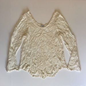 Embroidered Boho Top/Tunic - Small - Never Worn